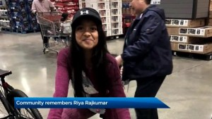 Community remembers 11-year-old Riya Rajkumar